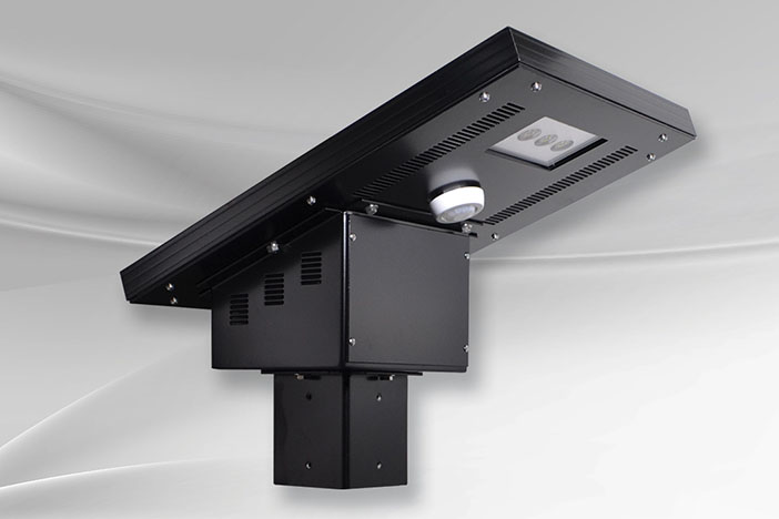 lx25 luminaire et lampadaire solaire del vision solaire inc. Black Bedroom Furniture Sets. Home Design Ideas