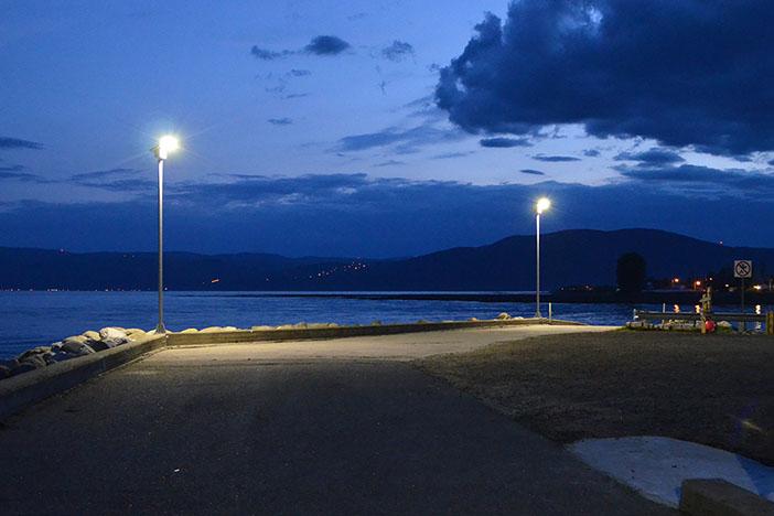 Exemple projet d'éclairage solaire