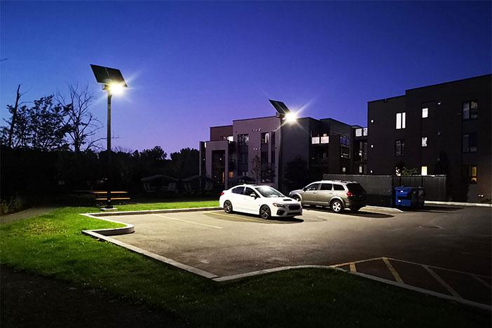 parking lot solar lighting